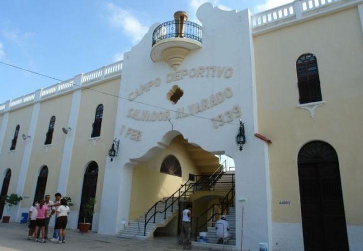 El estadio Salvador Alvarado será sede de los encuentros deportivos. (idey.gob.mx)