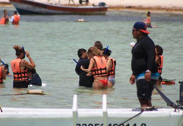El número de embarcaciones y el número de tours sería lo que el comité de vigilancia reportaría. (Adrián Barreto/SIPSE)