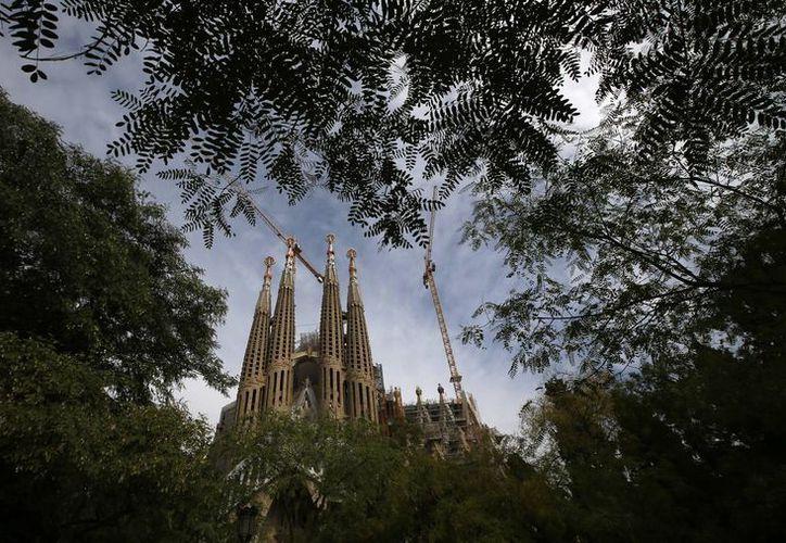 La piedra fundamental de La Sagrada Familia, emblema de Barcelona e imán turístico, fue colocada en 1882. (Agencias)
