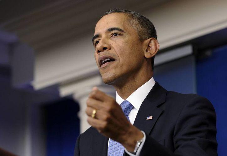 Obama 'no cederá a estos juegos', señala su vocera. (Agencias)