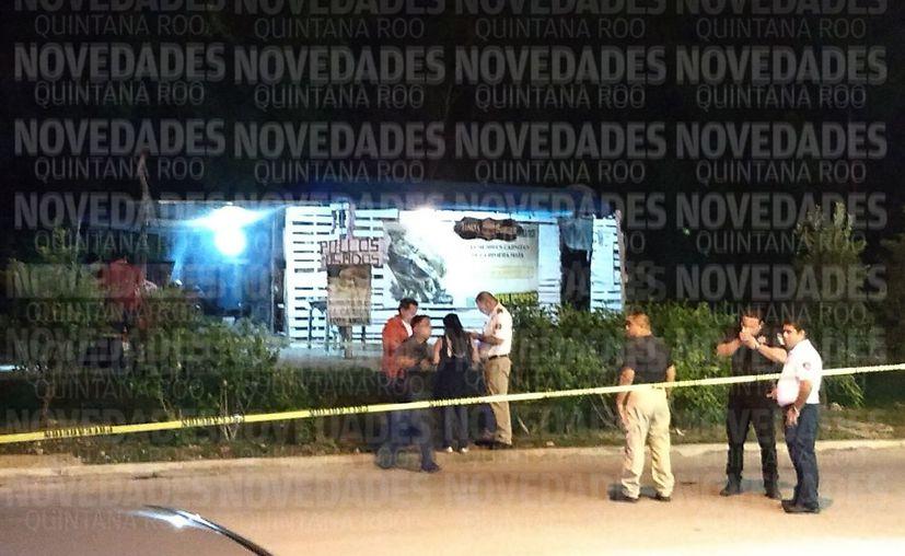 El ataque se registró en la avenida Zetina con calle Cocodrilo, fraccionamiento Villas la Playa. (Redacción)