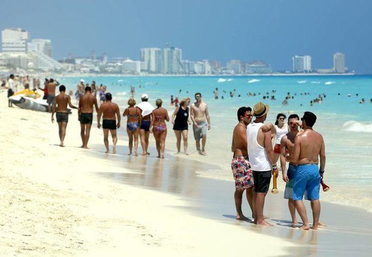 En enero más de 197 mil turistas de Estados Unidos visitaron este destino. (Israel Leal/SIPSE)