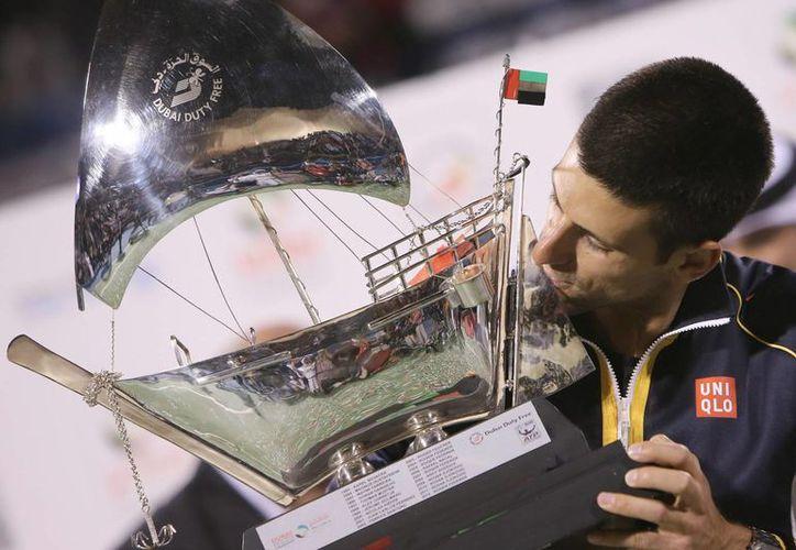 Djokovic logró su título número 36. (Foto: EFE)