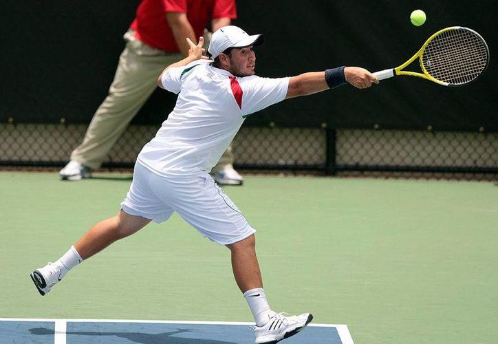 Daniel Garza, el singlista mexicano mejor posicionado en el ranking, abrirá la serie de Copa Davis contra Bolivia en la capital yucateca. (sinaloadeportes.com.mx)