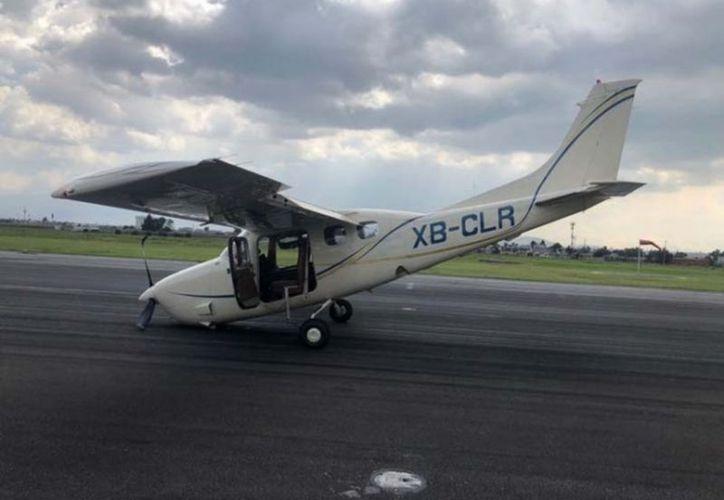 Reportaron una presunta falla en el tren de nariz del avión. (vanguardia.com)