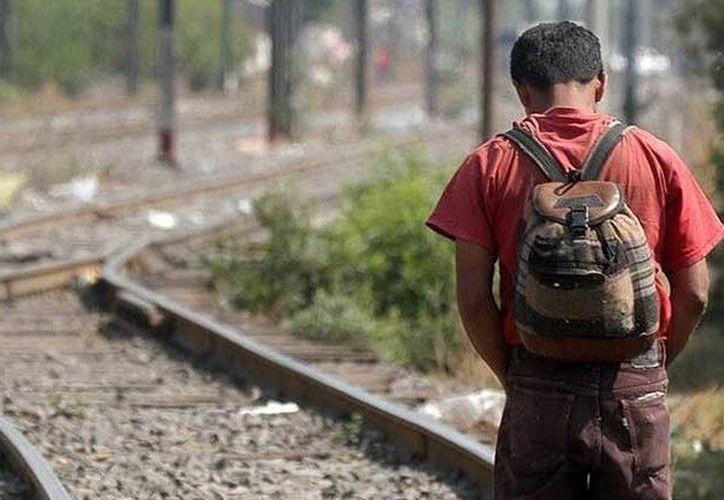 Los menores que viajan en la caravana migrante no podrán ser objeto de procedimientos que impliquen la deportación. (Arena Pública)