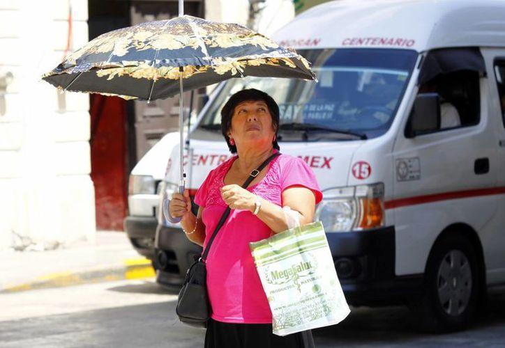 Los meridanos seguirán padeciendo calor en estos días. (Christian Ayala/SIPSE)