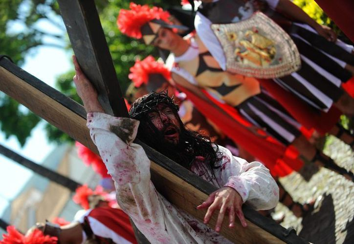 Semana Santa en el continente americano siempre se viste de un toque especial. (EFE)