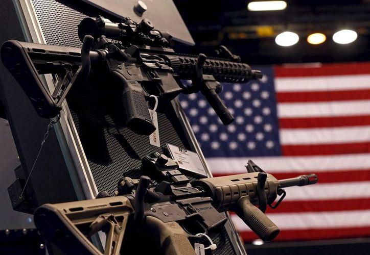 De 2014 a 2016, 50 mil 133 armas de fuego que se originaron en Estados Unidos fueron recuperadas como parte de investigaciones criminales. (Contexto/Internet)