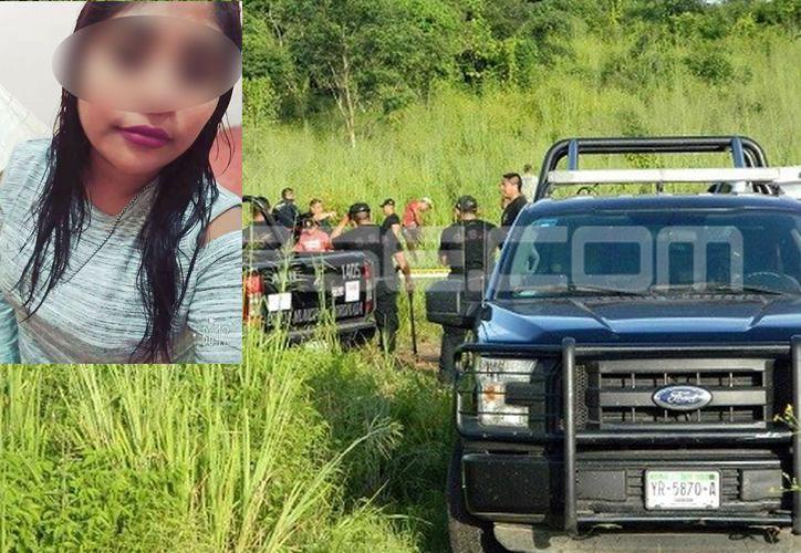 El cuerpo de Imelda fue reconocido por sus familiares el pasado sábado. (SIPSE)