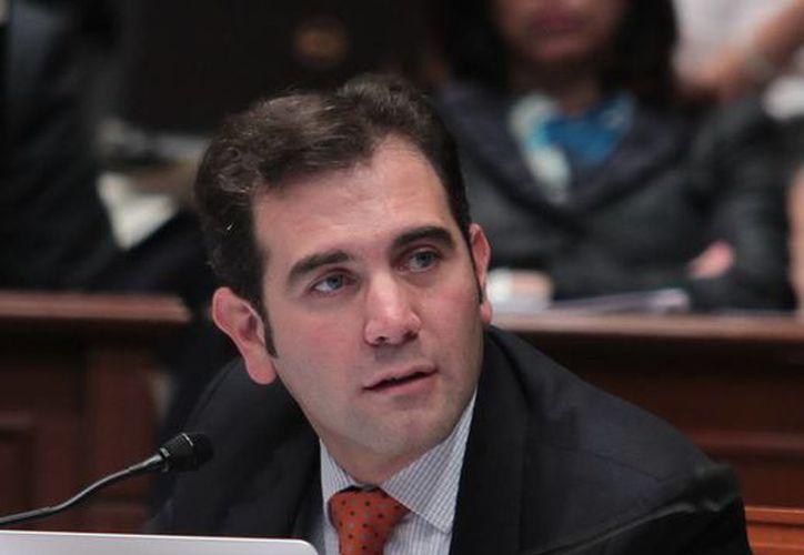 Lorenzo Córdova Vianello será presidente temporal y provisional del IFE por un mes. (Notimex)