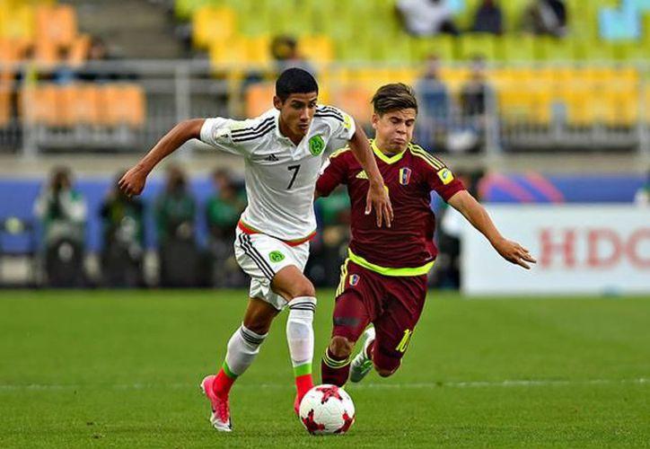 México Sub 20 perdió 1-0 contra Venezuela en Corea del Sur. (Foto: Internet)
