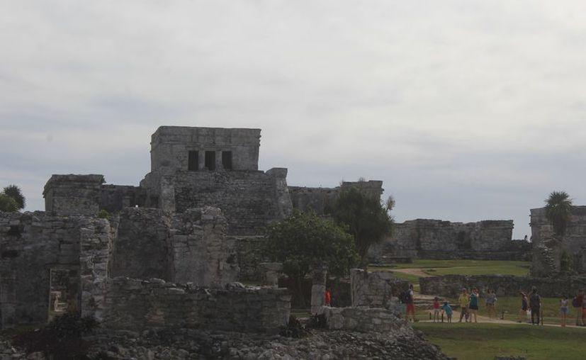 El sitio arqueológico de Tulum es uno de los más visitados. (Sara Cauich/SIPSE)
