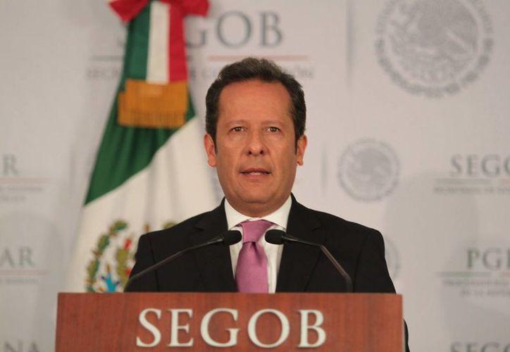 Sánchez Hernández dijo que las Fuerzas Armadas son una institución ejemplar. (Archivo/Notimex)