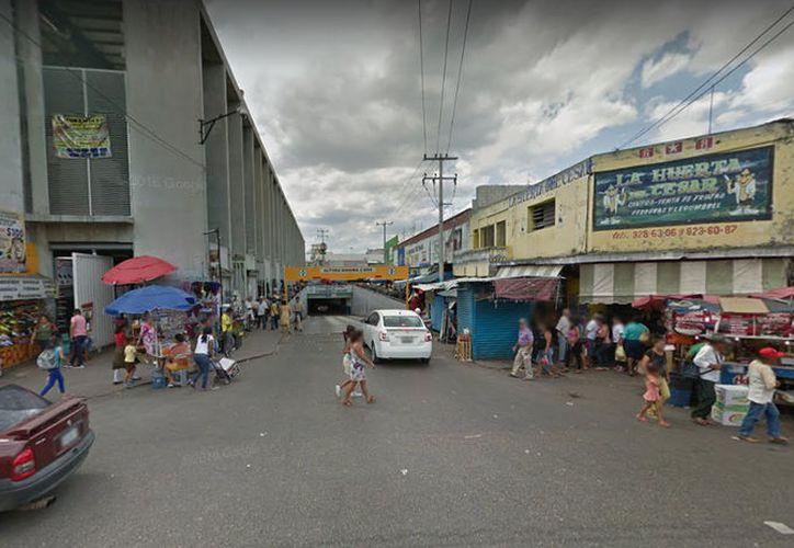 Los reportes indican que el mercado de San Benito es un lugar común para el robo de autopartes. (Imagen ilustrativa: Google Maps)