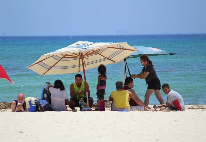 Sube el calor en Playa del Carmen. (Foto: Daniel Pacheco)