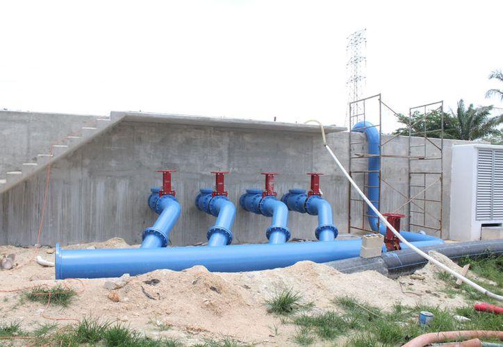 La planta de tratamiento de Aguas Residuales Primer Centenario, se encuentra en la prolongación avenida 4 de Marzo. (Joel Zamora/SIPSE)