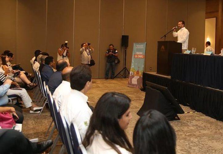 En Yucatán se realizó el Foro 'Pensemos las Ciudades', con el objeto de mejorar el desarrollo metropolitano. (Fotos cortesía del Gobierno Estatal)
