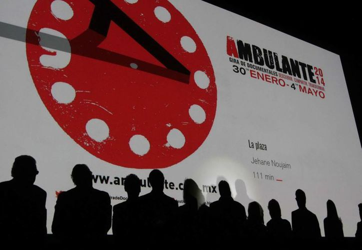 La Gira del Festival de Cine Ambulante, en la que también se incluye el programa infantil, viajará a 12 estados del 29 de enero al 3 de mayo de 2015. (Foto de archivo de Notimex)
