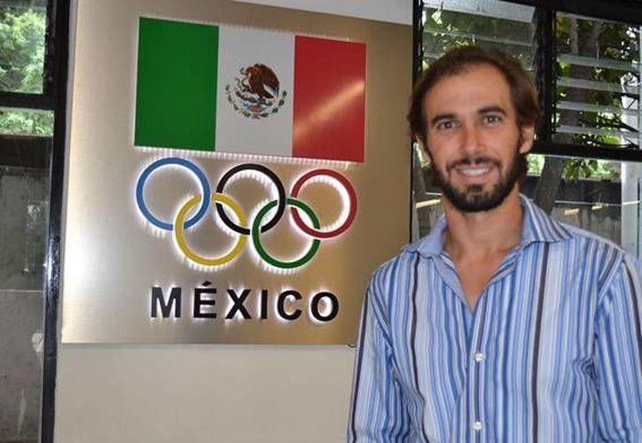 David Mier (foto) ha conseguido dos medallas de bronce en sus cinco participaciones en los juegos panamericanos.  (Sipse)