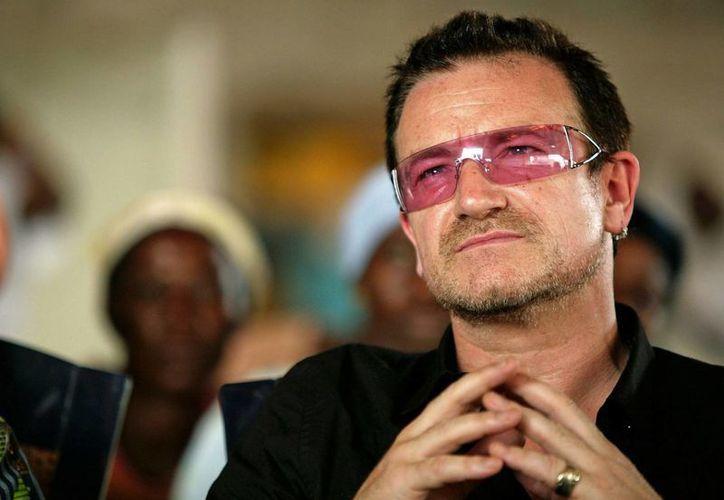 Bono es considerado por la revista Rolling Stone como el tercer vocalista más grande del rock. (AP)