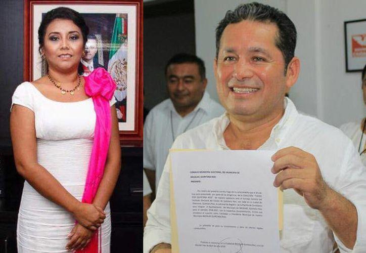Ambos candidatos solicitaron licencias a sus respectivos cargos. (Joel Zamora/SIPSE)