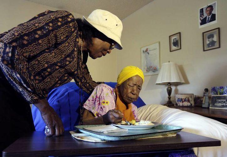 Susannah Mushatt Jones, de 116 años de edad, murió la noche del jueves en Nueva York. Era considerada la persona más longeva del mundo. (AP)