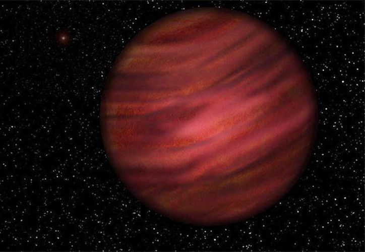 El planeta de gas conocido como 2MASS J2126-8140, 12 a 15 veces más grande que Júpiter, no está solo: orbita alrededor de una estrella enana roja denominada TYC 9486-927-1. (University of Hertfordshire/Neil James Cook)