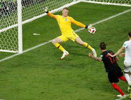 Con esfuerzo sobrehumano Croacia es finalista