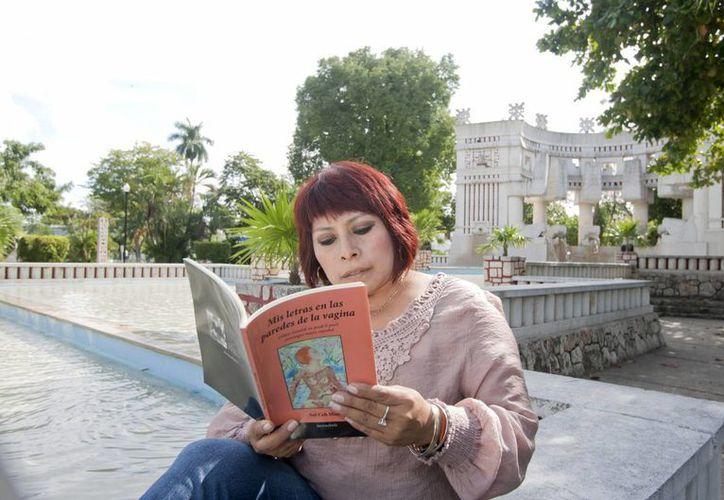La escritora maya Sol Ceh Moo es conocida por su literatura 'de largo aliento' y de denuncia. (Notimex)