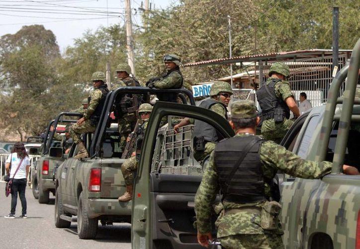 La violencia en Guerrero ha provocado la presencia del Ejército en el Estado. (Archivo/Notimex)