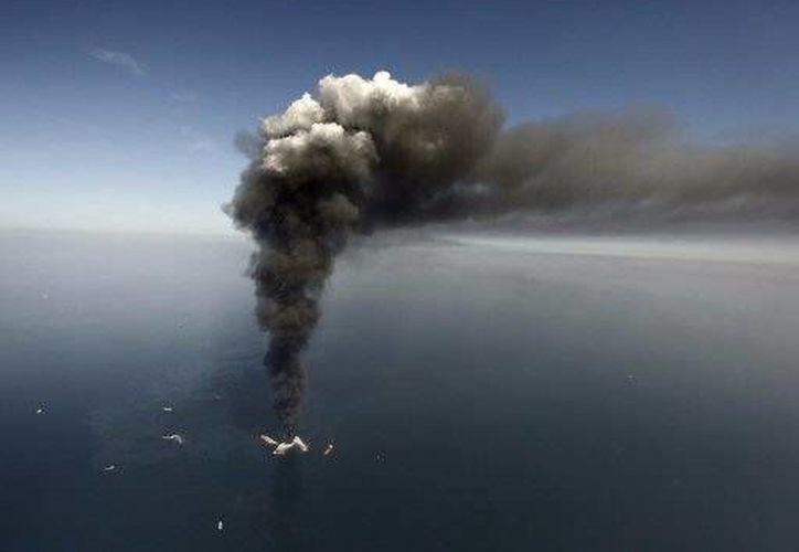 Millones de litros de crudo se derramaron en mar abierto el 20 de abril de 2010. (Agencias)