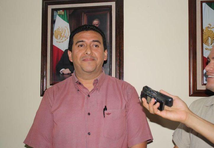 Alejandro Salgado Sangri, director de Transporte. (Loana Segovia/SIPSE)
