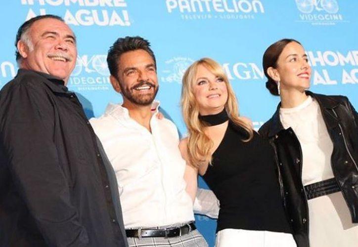 Anna Faris se encuentra en México, donde presentó su nueva película 'Hombre al agua', junto a Eugenio Derbez. (Instagram)