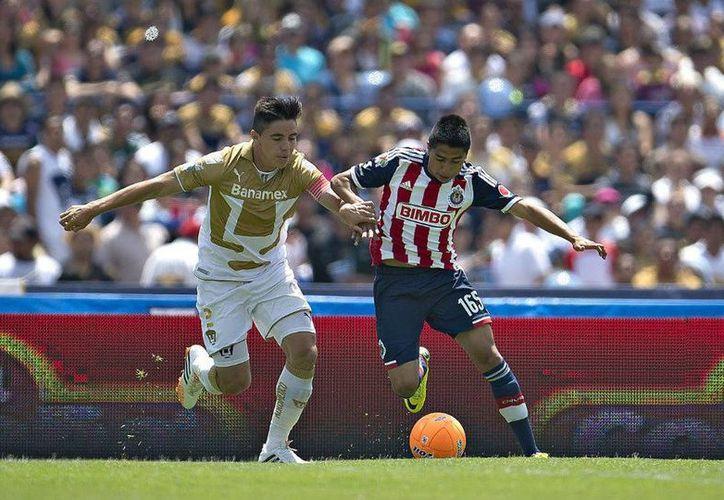 El partido mas atractivo de la jornada 2 la disputarán los Pumas de la UNAM contra el 'Rebaño Sagrado' en el estadio Universitario. (La Afición/Milenio)