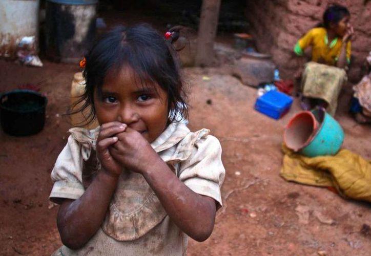 La encuesta determinó que en el país un 33% de la población vive en un rezago alto. Foto de contexto.(Archivo/Agencias)