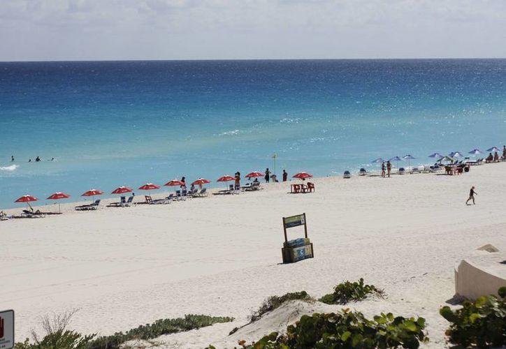 La organización internacional también verificará mediante documentación oficial que constantemente sean realizadas acciones de conservación de la playa. (Israel Leal/SIPSE)