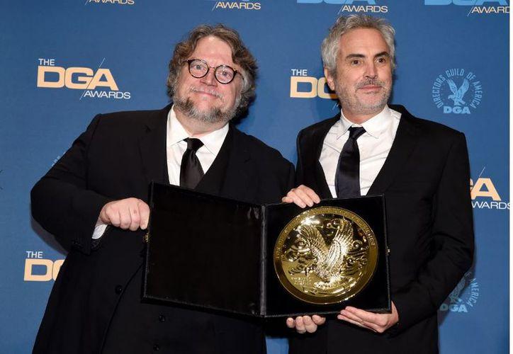 """Guillermo  Del Toro dijo que esta película, nominada a 10 Oscar, era """"absolutamente soberbia, perfecta y complicadísima"""". (AP)"""
