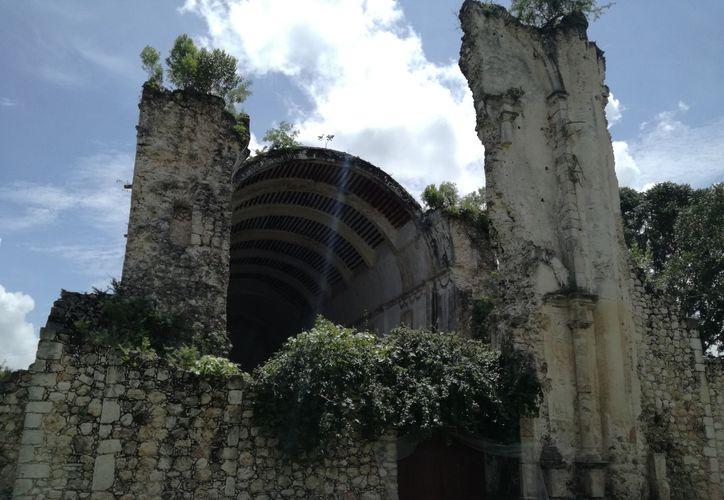 "Tihosuco será nombrado oficialmente ""Zona de Monumentos Históricos"" de México. (David Tejada/SIPSE)"