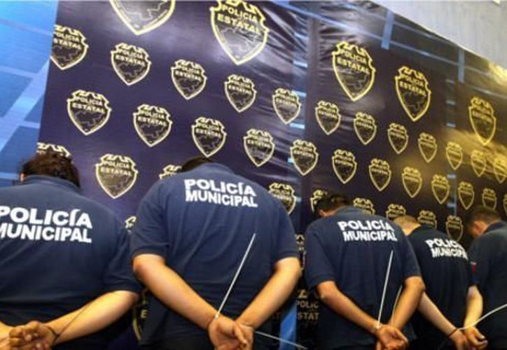 Policías municipales de Guanajuato arrestados por narcotráfico. (Notimex/Archivo)