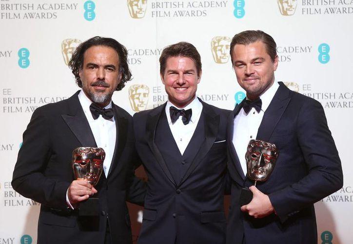 'El Renacido' arrasó con los Baftas como Mejor Película, Mejor Director y Mejor Actor. (Agencias)