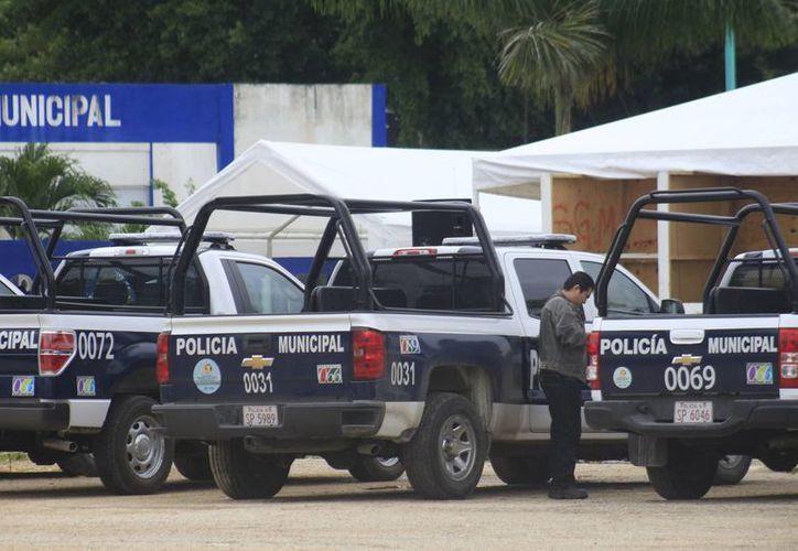 Existen 200 vehículos distribuidos en la PMP, Servicios Públicos Municipales, Protección, Salud, Fiscalización y Obras Públicas. (Paloma Wong/SIPSE)