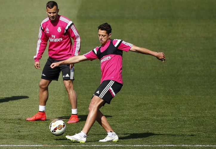 A pesar de vivir un buen momento con los 'Merengues', Hernández lo toma con calma. (Foto: EFE)