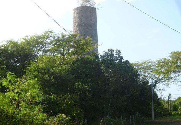 El ingenio azucarero funcionaba en el año de 1865. (Raúl Balam/SIPSE)