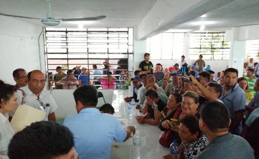 La elección de Comisario Ejidal de Calderitas fue suspendida por irregularidades. (Daniel Tejada/SIPSE)