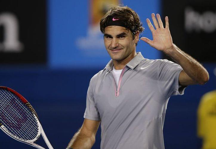 Federer mantiene el recorrido impecable en el Abierto de Australia. (EFE)