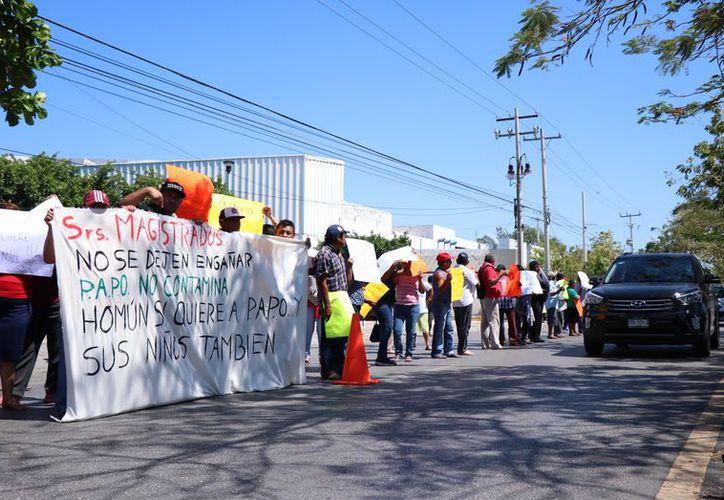 La voz del pueblo de Homún no fue escuchada por dos de tres magistrados. (Novedades Yucatán)