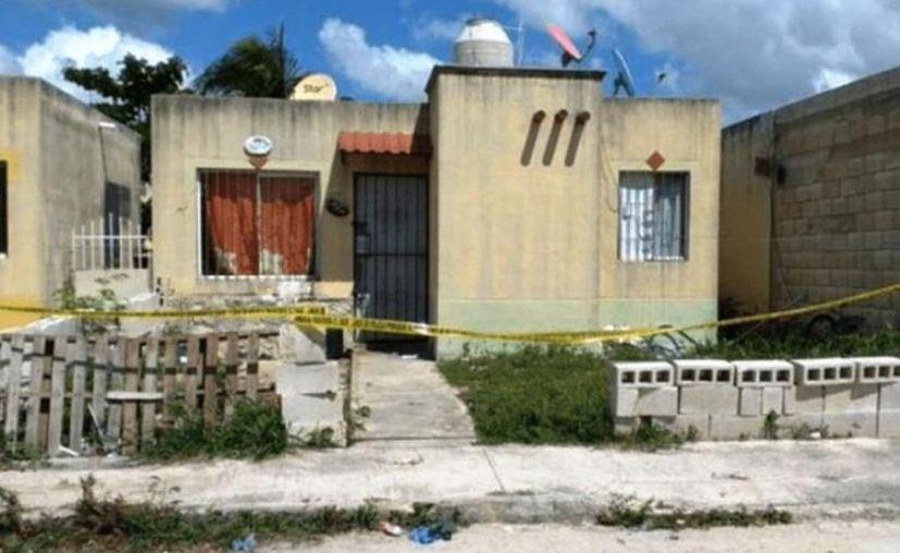 El crimen ocurrió en esta casa de Ciudad Caucel. (Novedades Yucatán)