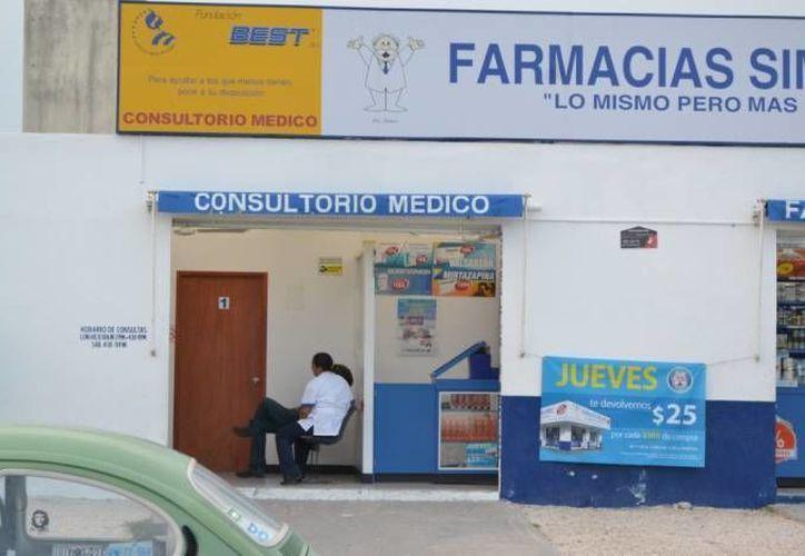 Las farmacias de genéricos están estigmatizadas por falta de regulación de la Cofepris, según estudio. (Archivo/SIPSE)