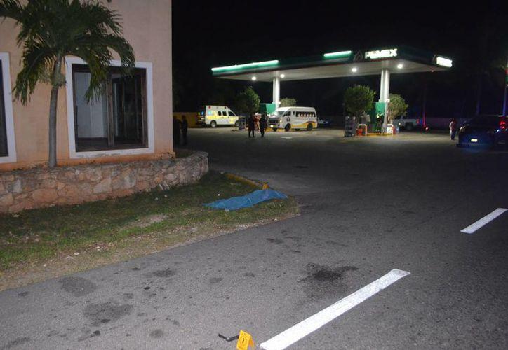 El accidente ocurrió en la carretera Mérida-Acanceh a la altura de la gasolinera de Tepic Carrillo. (SIPSE)